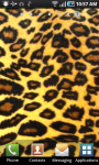 Glowing Leopard Print Live Wallpaper screenshot 1/2