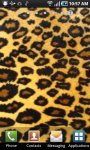 Glowing Leopard Print Live Wallpaper screenshot 2/2