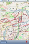 Prague Street Map. screenshot 1/1