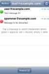 Mailman Moderator screenshot 1/1