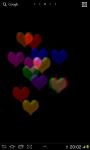Glass Hearts 2D Live wallpaper screenshot 1/3