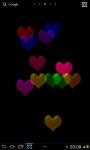 Glass Hearts 2D Live wallpaper screenshot 3/3