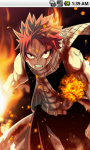 Natsu Dragneel Fairy Tail Live Wallpaper screenshot 1/5