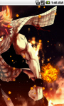 Natsu Dragneel Fairy Tail Live Wallpaper screenshot 3/5