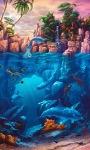 Blue Dolphins Live Wallpape screenshot 1/3