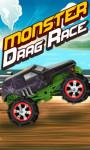 Monster Drag Race - Free screenshot 1/5