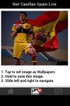 Iker Casillas Spain  Wallpaper screenshot 3/5