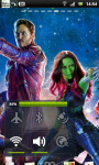 Guardians of the Galaxy Live Wallpaper 1 screenshot 3/3