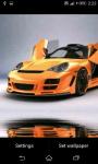Sport Cars water effect Live Wallpaper screenshot 1/4