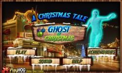 Free Hidden Object Games - Ghost of Christmas screenshot 1/4