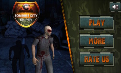 Zombies City Sniper screenshot 1/6