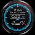 Futuristic Watch Face full screenshot 6/6