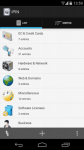 iPIN  Passwort Manager total screenshot 5/6