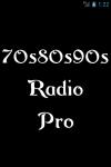 70s80s90sRadio Pro screenshot 1/3