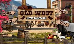 Free Hidden Object Games - Old West screenshot 1/4