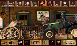 Free Hidden Object Games - Old West screenshot 3/4