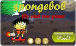 Spongebob fly and run game screenshot 1/5