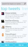 Twitter Client For Nokia App screenshot 2/6
