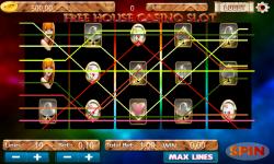 Free House Casino Slot screenshot 3/4