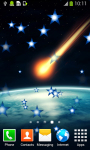 Meteor Shower Live Wallpapers screenshot 3/6