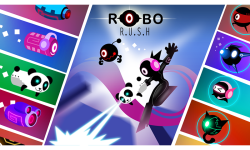 Robo Rush - Robo Run screenshot 2/5