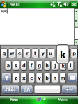Resco Keyboard Pro screenshot 1/1