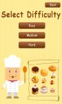 Memory Game Pastry - Free screenshot 2/3