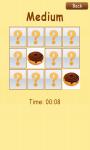 Memory Game Pastry - Free screenshot 3/3