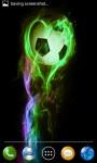 Fire soccer ball screenshot 2/4