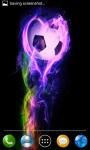 Fire soccer ball screenshot 4/4