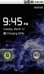 Blue Abstract Live Wallpaper screenshot 5/5
