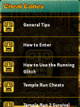 Temple Run Cheats Codes screenshot 2/3