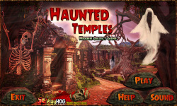 Free Hidden Object Games - Haunted Temples screenshot 1/4