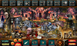Free Hidden Object Games - Haunted Temples screenshot 3/4
