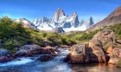 Beautiful Mountain Lake Pictures HD Wallpaper screenshot 1/6