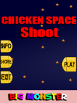 Chicken Space Shoot screenshot 1/4