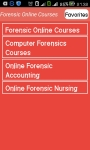 Forensic Online Courses screenshot 5/6