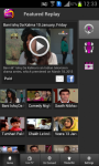 nexGTv mobile Tv for Android users screenshot 1/6
