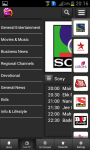 nexGTv mobile Tv for Android users screenshot 4/6