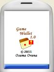 Game Wallet screenshot 1/5