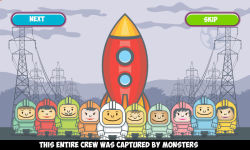 Spaceman Vs Monsters free screenshot 2/6
