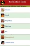 Festivals of India screenshot 2/3