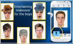 Face Effects: Boy Makeover screenshot 4/6