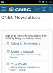 CNBC Reader screenshot 6/6