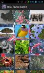 Flora Fauna Puzzle screenshot 2/5