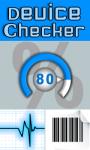 Device Checker screenshot 1/1