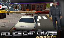 Police Car Chase Simulator 3D screenshot 3/5