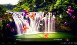 3D Waterfall Wallpapers screenshot 1/5