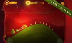 Burning Comet Endless Roll screenshot 2/5
