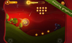 Burning Comet Endless Roll screenshot 4/5